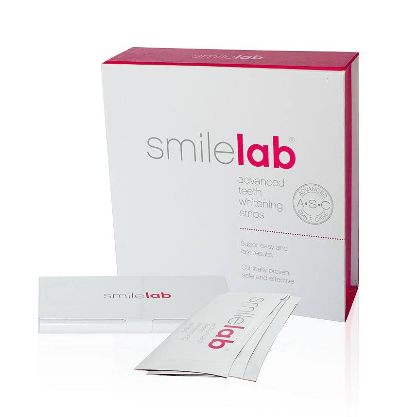 Smilelab Advanced Teeth Whitening Strips 14 x 2stk
