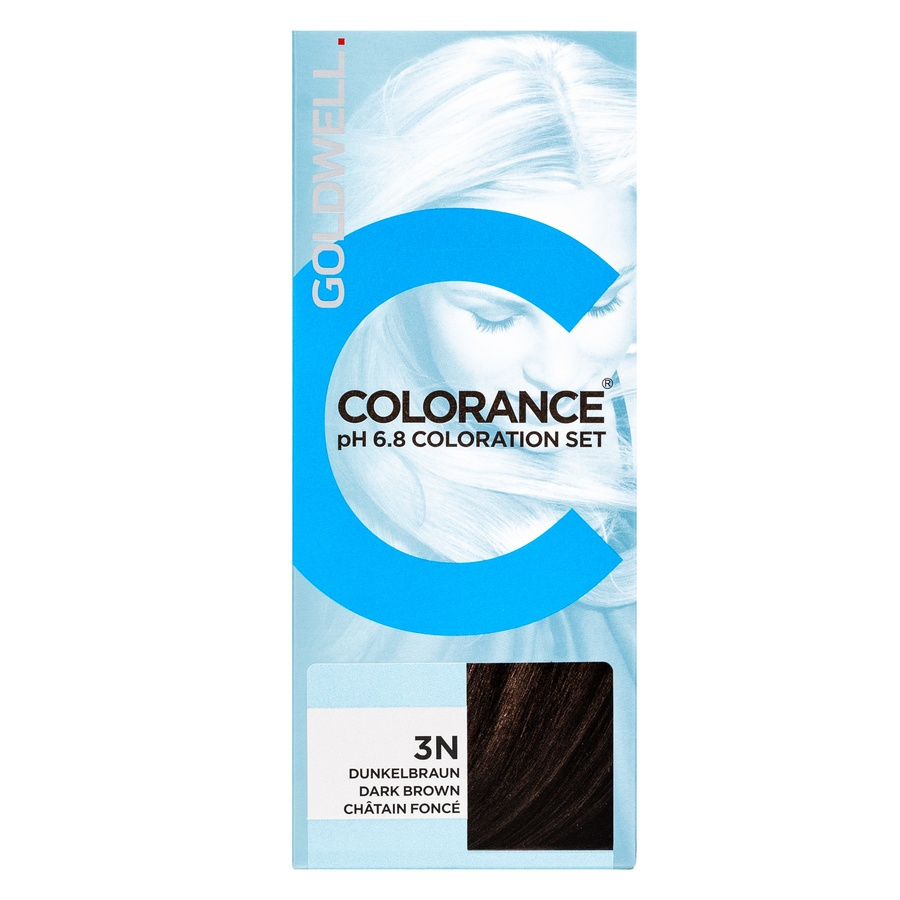 Goldwell Colorance pH 6.8 Coloration Set 3N Dark Brown 90ml