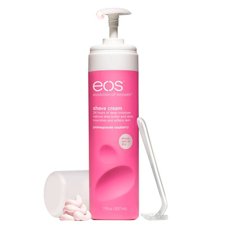 Eos The Evolution Of Smooth Shave Cream Pomegranate Raspberry 207ml