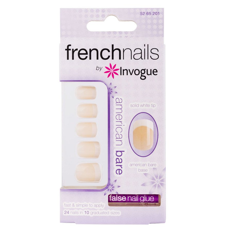 Invogue French Nails Americian Bare