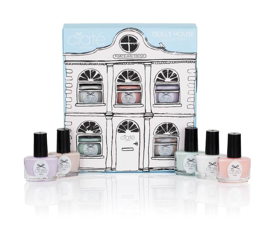 Ciaté Dolls House Collection Perfect Pastell Porselens Finish 5x5ml