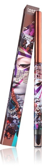 Teeez Trend Cosmetics Desert Glow Collection Mysterious Crystal Eyeliner Rich Amber