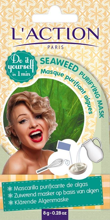 L'Action Paris Seaweed Purifying Mask 12g
