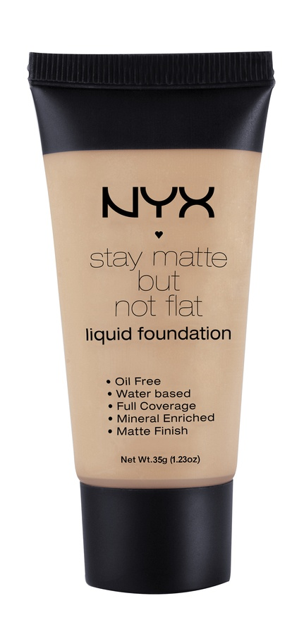 NYX Stay Matte But Not Flat Liquid Foundation Caramel 35ml SMF10