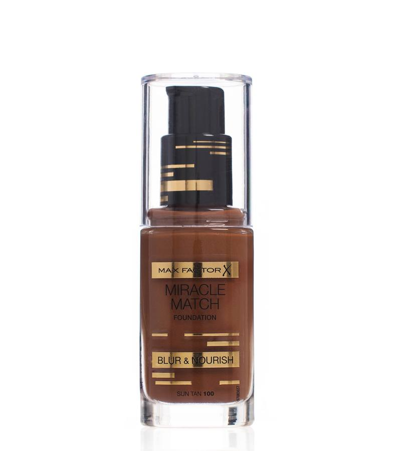 Max Factor Miracle Match Foundation Sun Tan 100