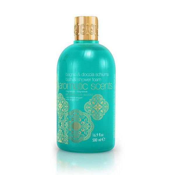 Aromatic Scents Bath & Shower Foam With Argan Oil Arabesque Wood 500ml
