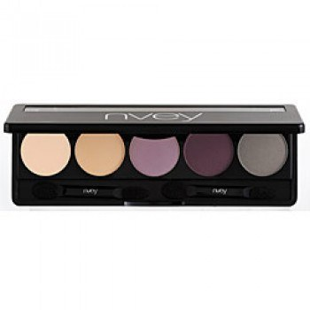 Nvey ECO Eye Shadow Palette 5 Colour Collection N° 4 Precious Plum Pearl (150, 161, 162, 163, 164) 7,5g