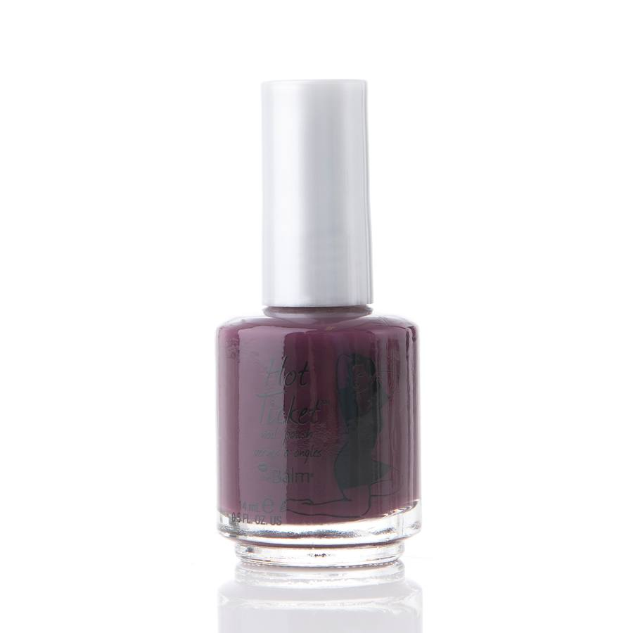 The Balm Hot Ticket Nail Poilsh Nothing Rhymes with Purple