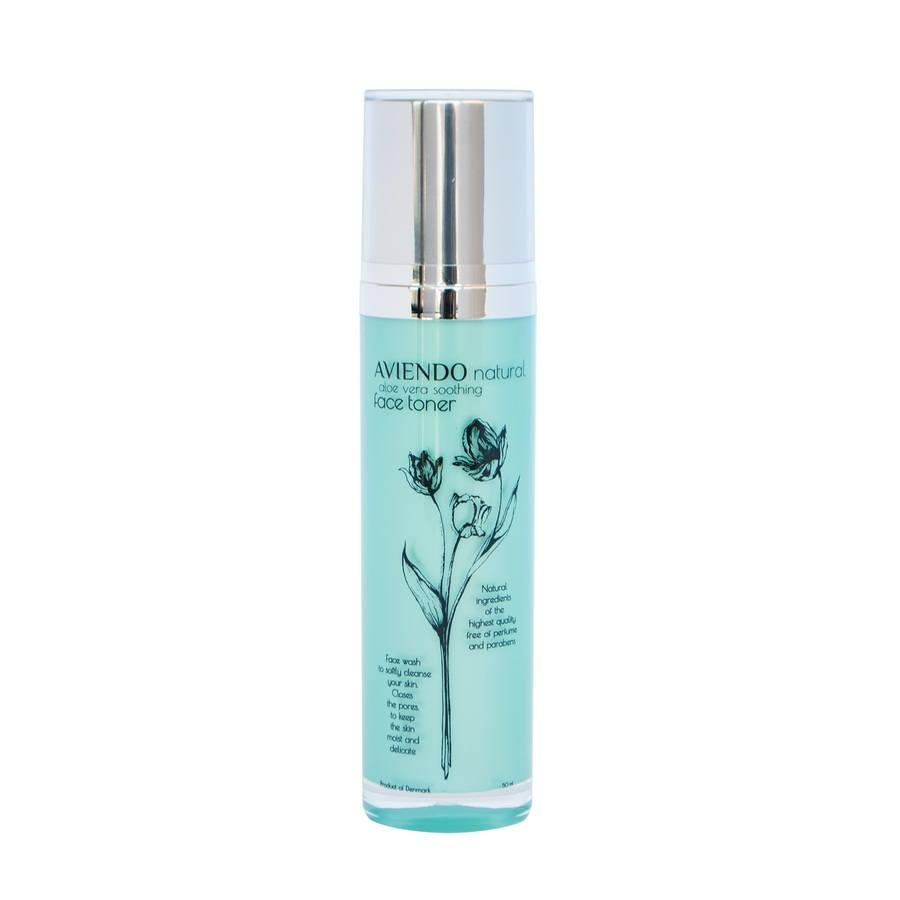 Aviendo Natural Aloe Vera Soothing Face Toner 50ml