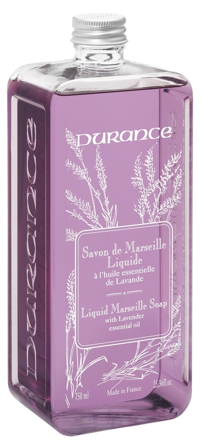 Durance Liquid Marseille Soap With Lavender Essential Oil Refill 750ml