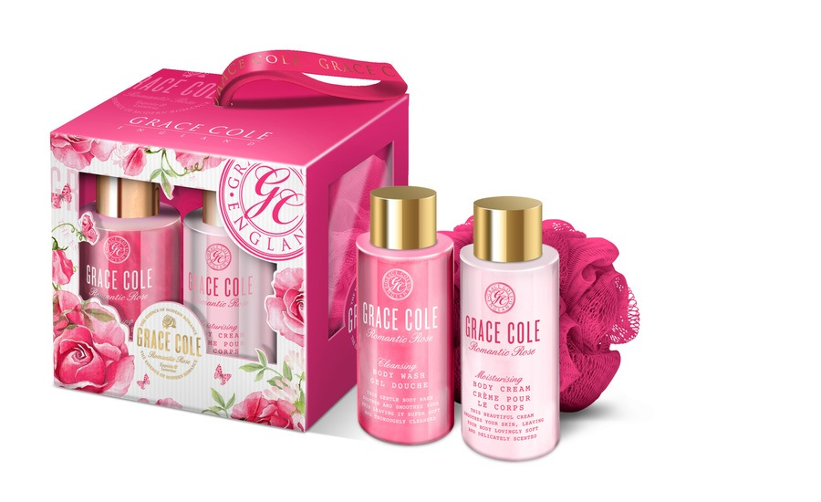 Grace Cole Romantic Rose Classic Cleansing