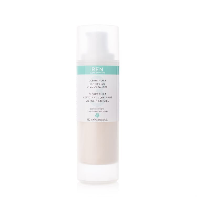 REN Clearcalm 3 Clarifying Clay Cleanser 150ml