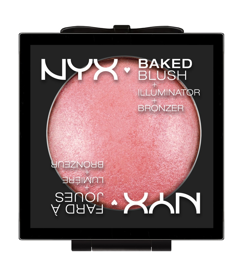 NYX Prof. Makeup Baked Blush Spanish Rose BBL07