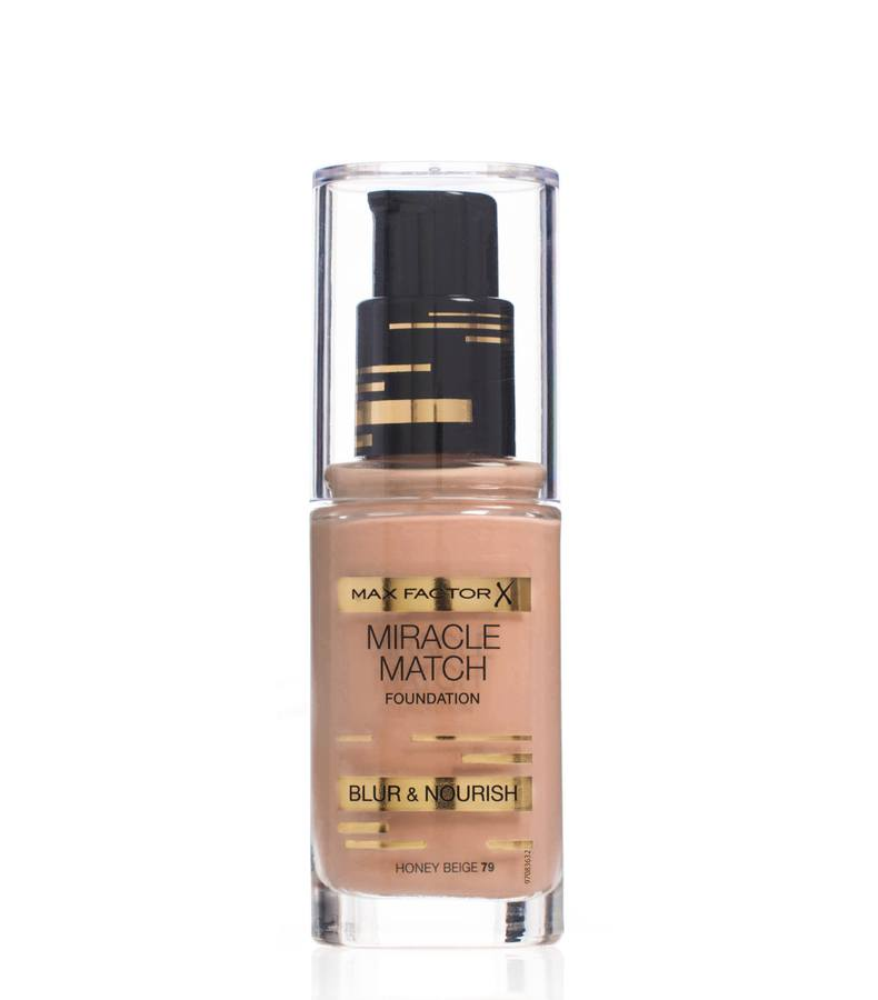 Max Factor Miracle Match Foundation Honey Beige 079