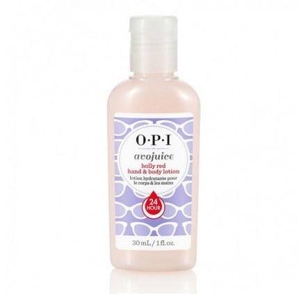 OPI Avojuice Holly Red Hand & Body Lotion 30ml
