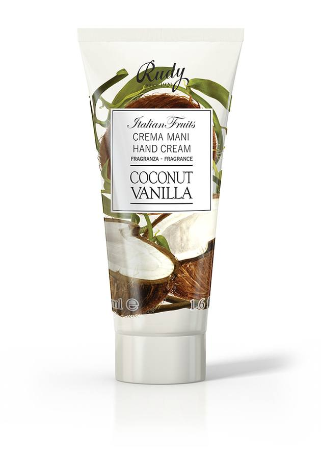 Italian Fruits Hand Cream Coconut &Vanilla 50ml