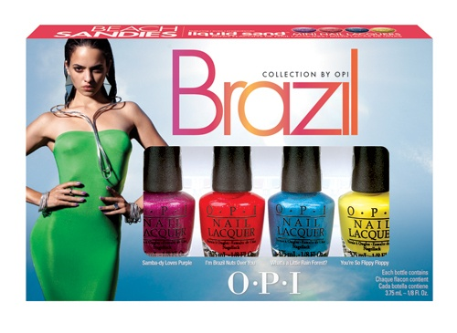 OPI Brazil Collection Liquid Sand Mini Pack Beach Sandies 4 x 3,75ml