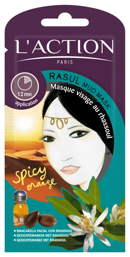 L'Action Paris Rasul Mud Mask 16g