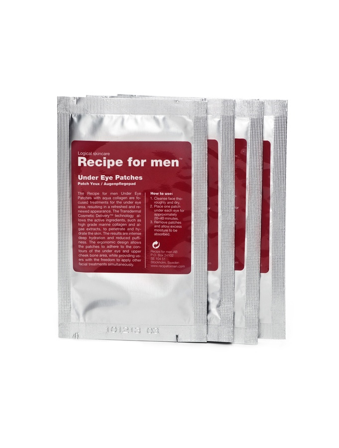 Recipe For Men Under Eye Patches 4pk