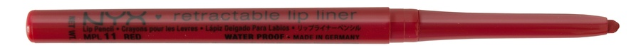 NYX Prof. Makeup Retractable Lip Liner Red Bright Blue Red MPL11