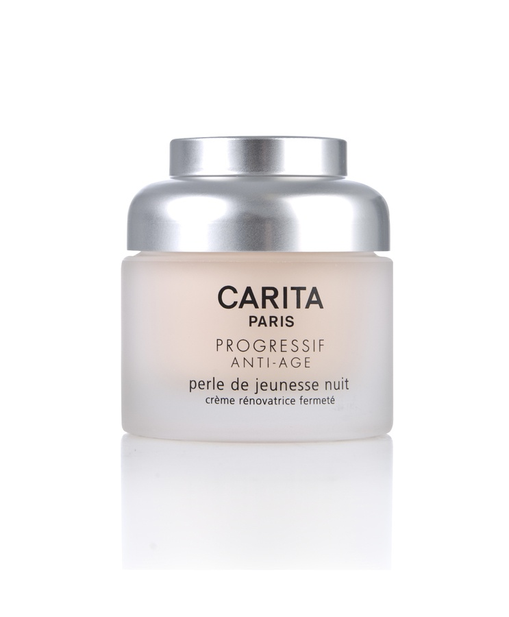 Carita Progressif Anti-Age Pearl Of Youth Night Renewal Firming Cream 50ml
