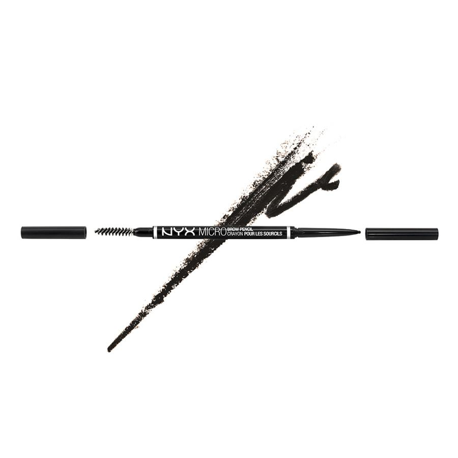 NYX Micro Brow Pencil Black MBP08