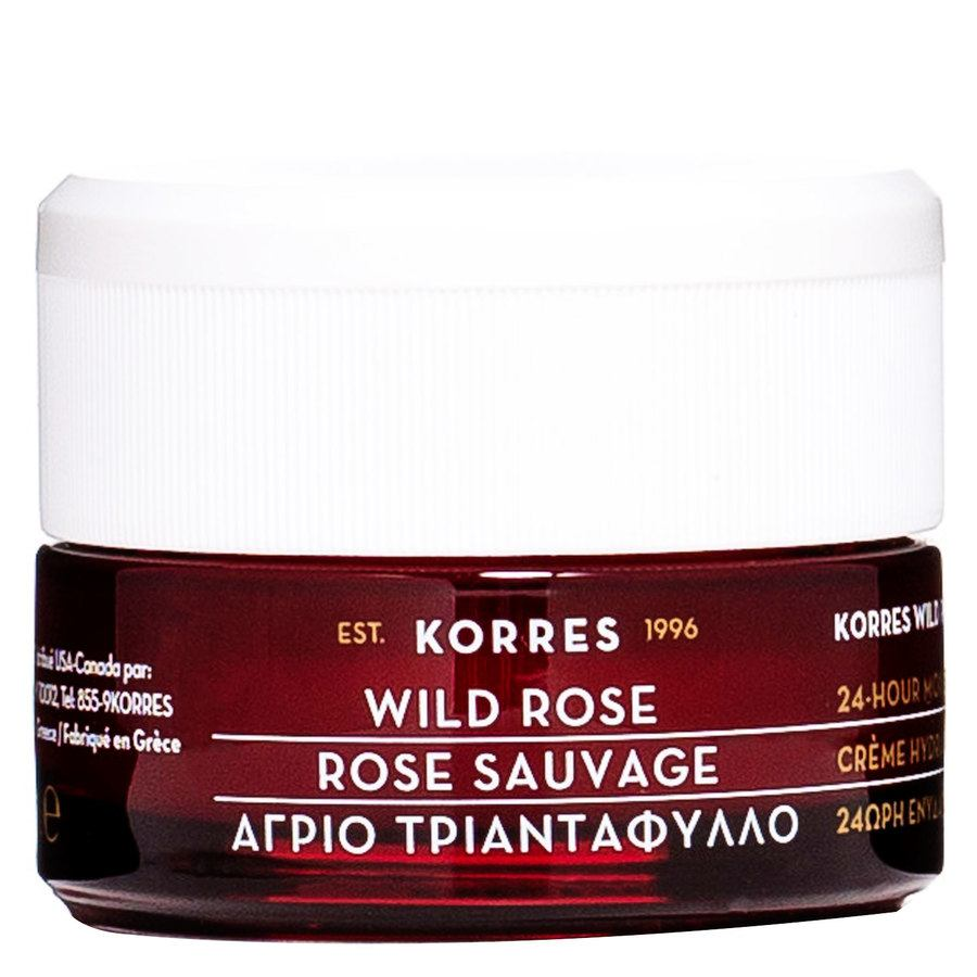 Korres Wild Rose 24-Hour Moisturising Cream 40ml