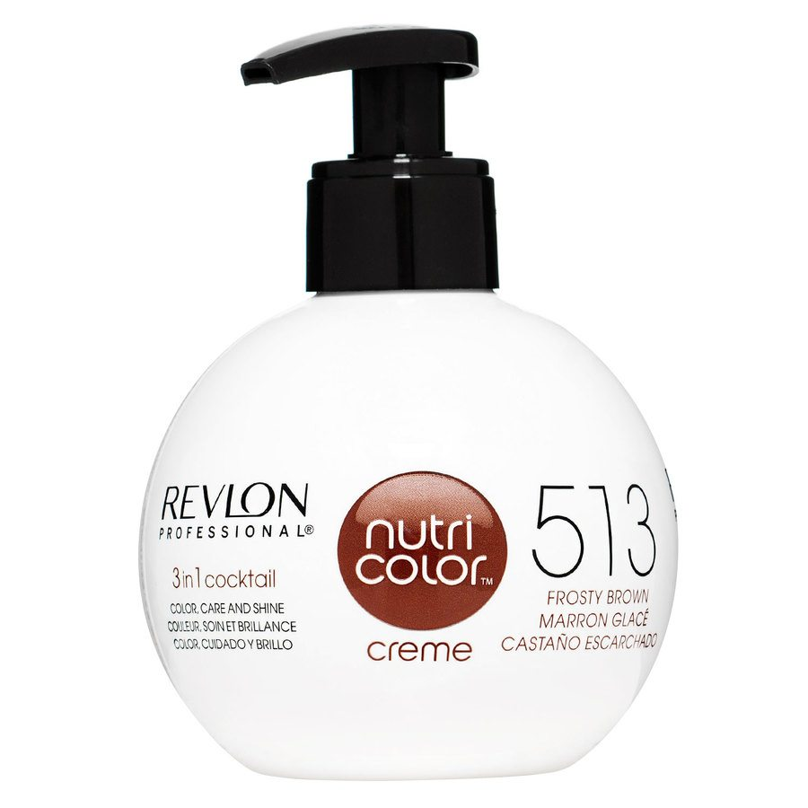 Revlon Professional Nutri Color Creme 270ml #513 Frosty Brown