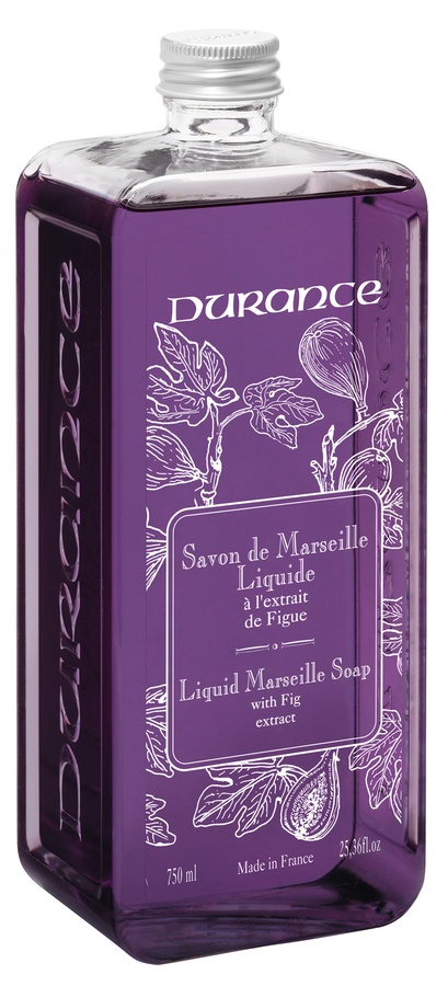 Durance Liquid Marseille Soap With Fig Extract Refill 750ml