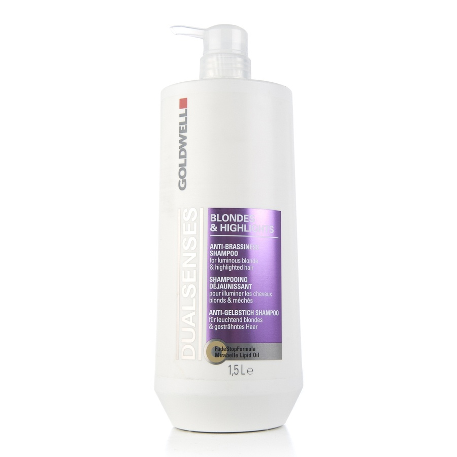 Goldwell Dualsenses Blondes & Highlights Anti-Brassiness Shampoo 1500 ml