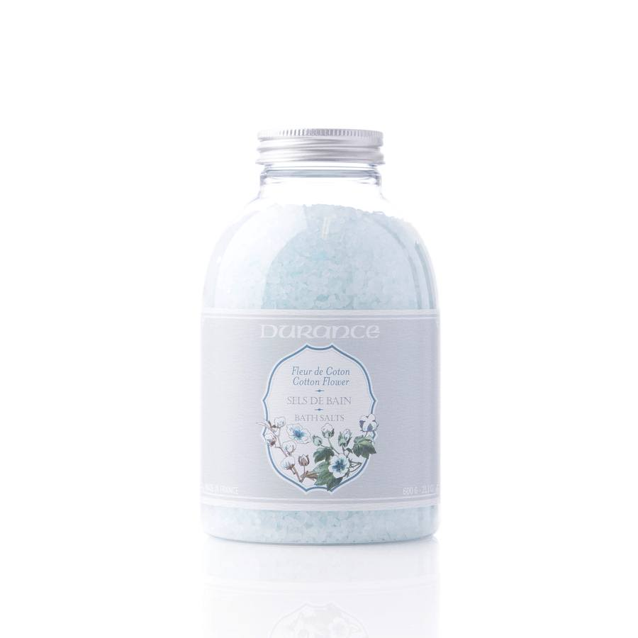 Durance Bath Salts Cotton Flower 600g