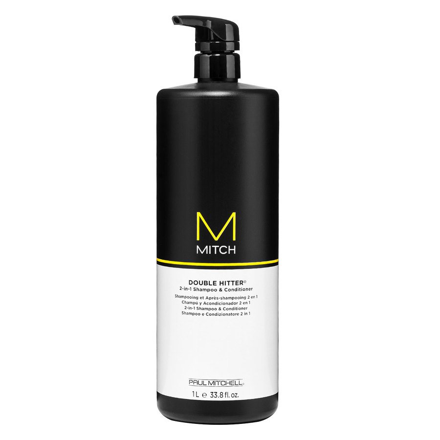 Paul Mitchell Mitch Double Hitter Sulfate Free 2-in-1 Shampoo & Conditioner 1000ml