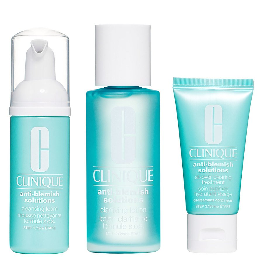 Clinique Anti-Blemish Solutions 3-Steps System 50 x 100 x 30ml