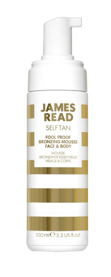 James Read Fool-Proof Bronzing Mousse Face  Body 100ml