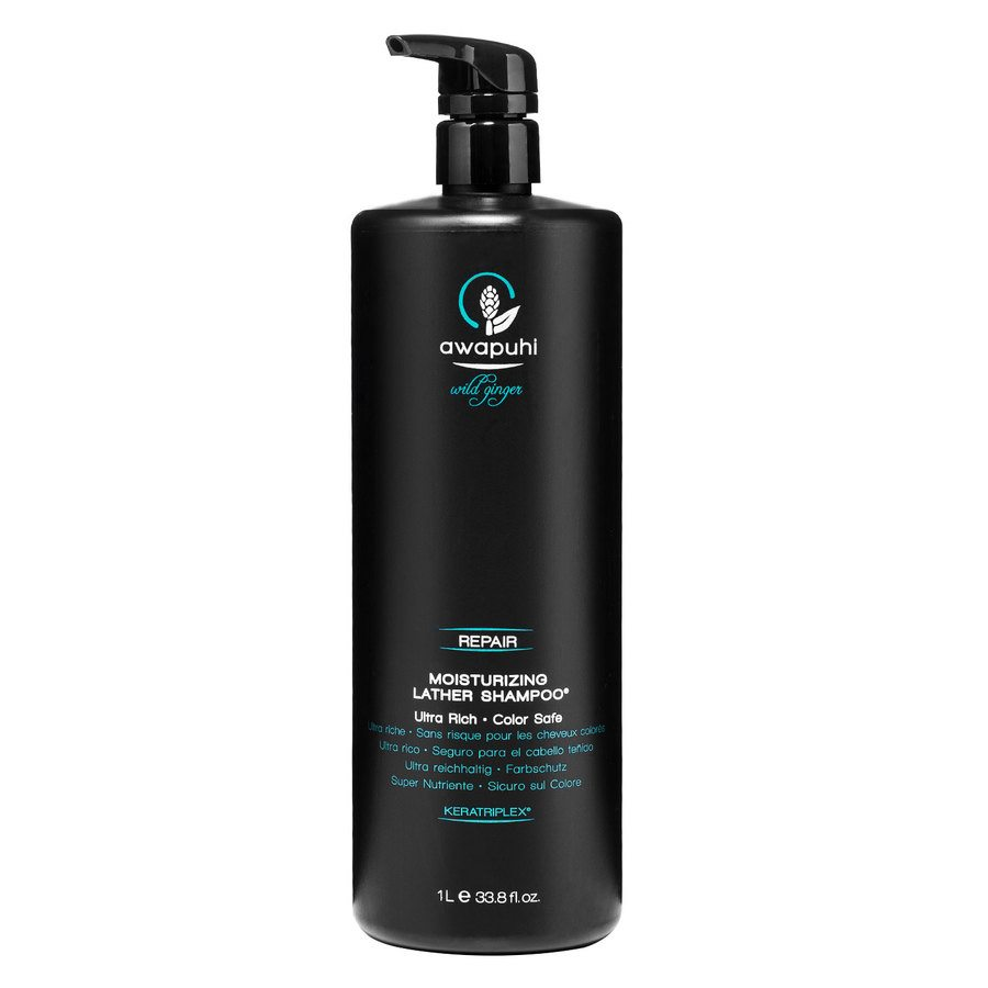 Paul Mitchell Awapuhi Wild Ginger -Moisturizing Lather Shampoo 1000ml
