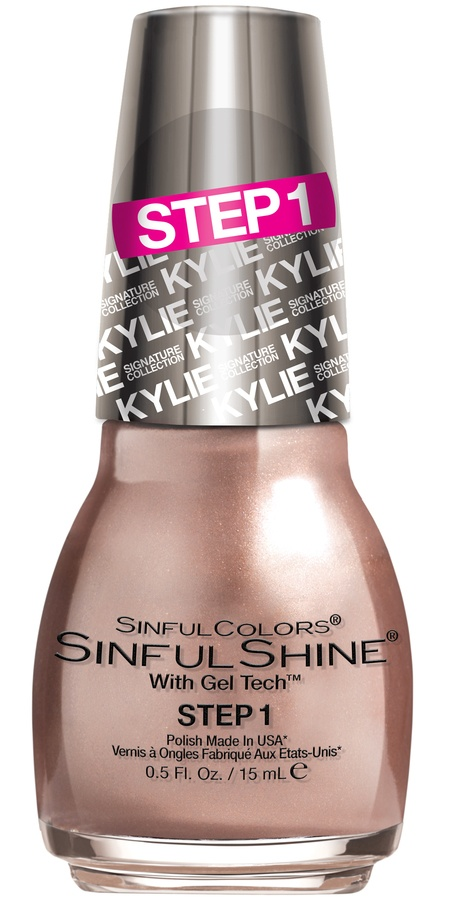 Kylie Jenner Sinful Colors Neglelakk Kafè Latte #2052 15ml