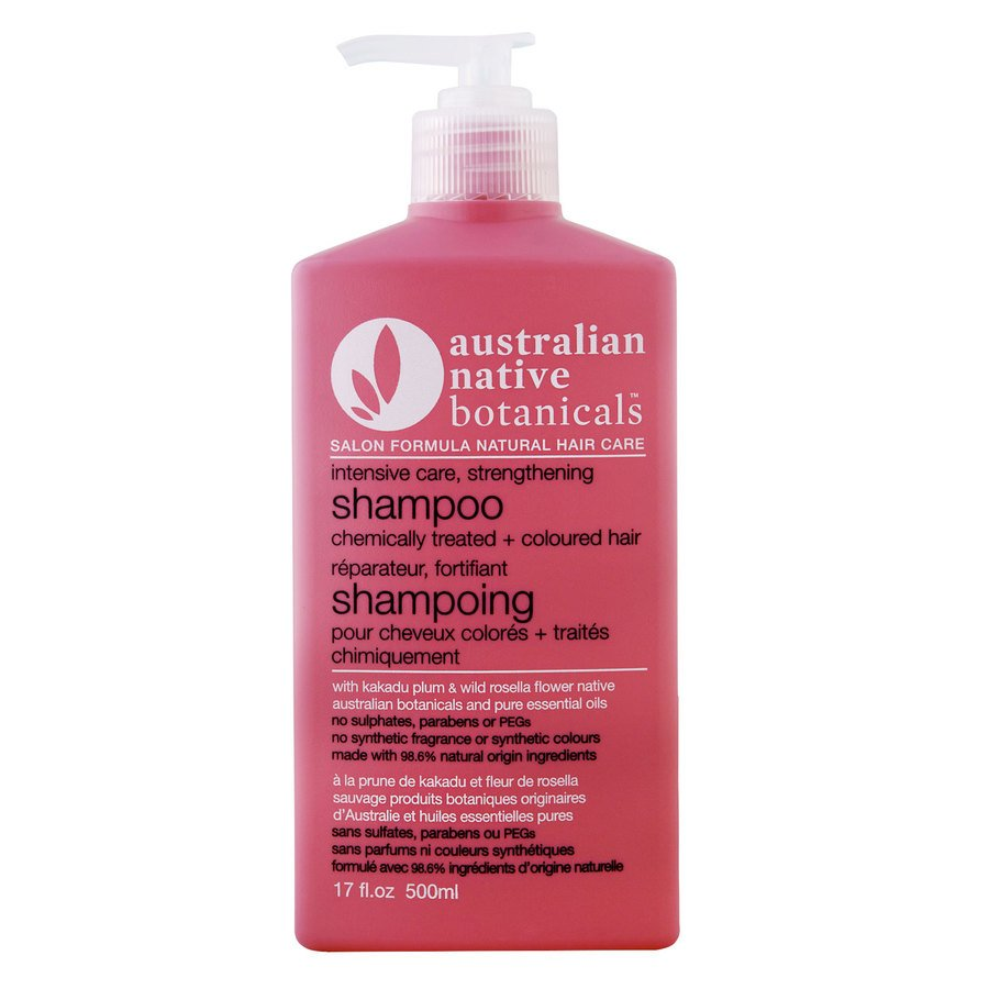Australian Native Botanicals Strengthening Shampoo For Chemically Treated & Coloured Hair 500ml
