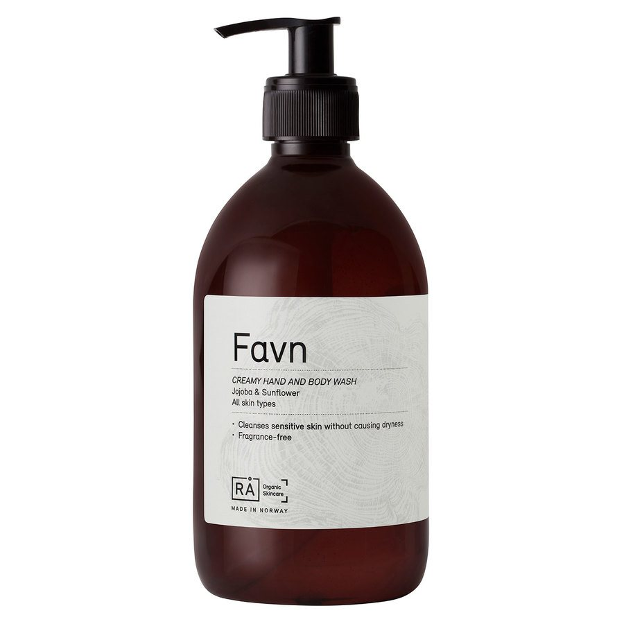 RÅ Organic Skincare Favn Creamy Hand And Body Wash 500ml