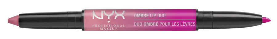 NYX Prof. Makeup Ombre Lip Duo Lipstick & Lipliner Old02 Pink Bubbles & Caviar