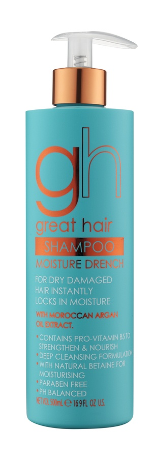 Baylis & Harding Great Hair Shampoo For Dry, Damaged Hair With Moroccan Argan Oil Extract 500ml