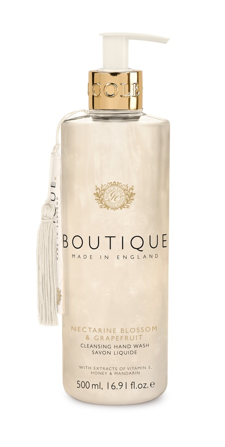Grace Cole The Boutique Hand Wash Nectarine Blossom & Grapefruit 500ml