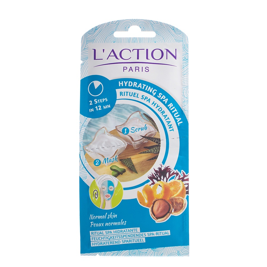 L'Action Paris Hydrating Spa Ritual 2 In 1