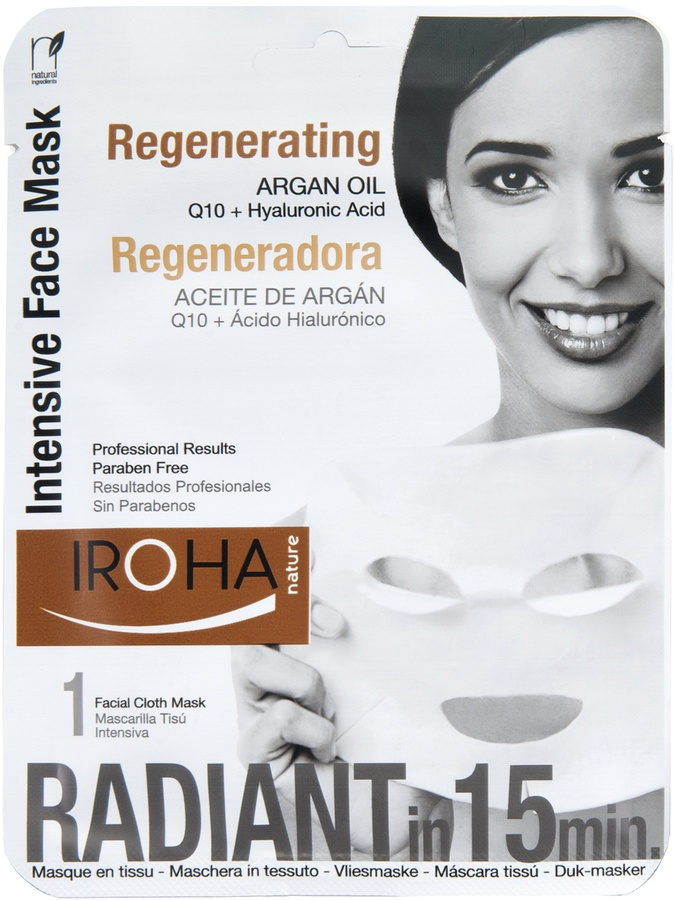 Iroha Intensive Regenerating Face Mask With Argan Oil