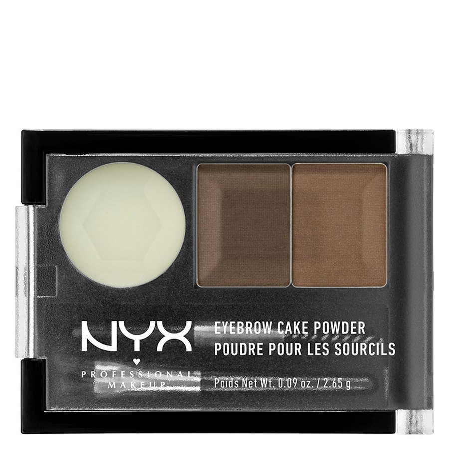 NYX Professional Makeup Eyebrow Cake Powder Brown/Brunette ECP05