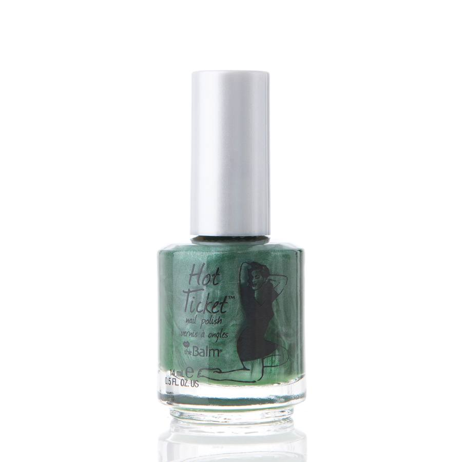 The Balm Hot Ticket Nail Poilsh Grass (Is)n't Always Greener