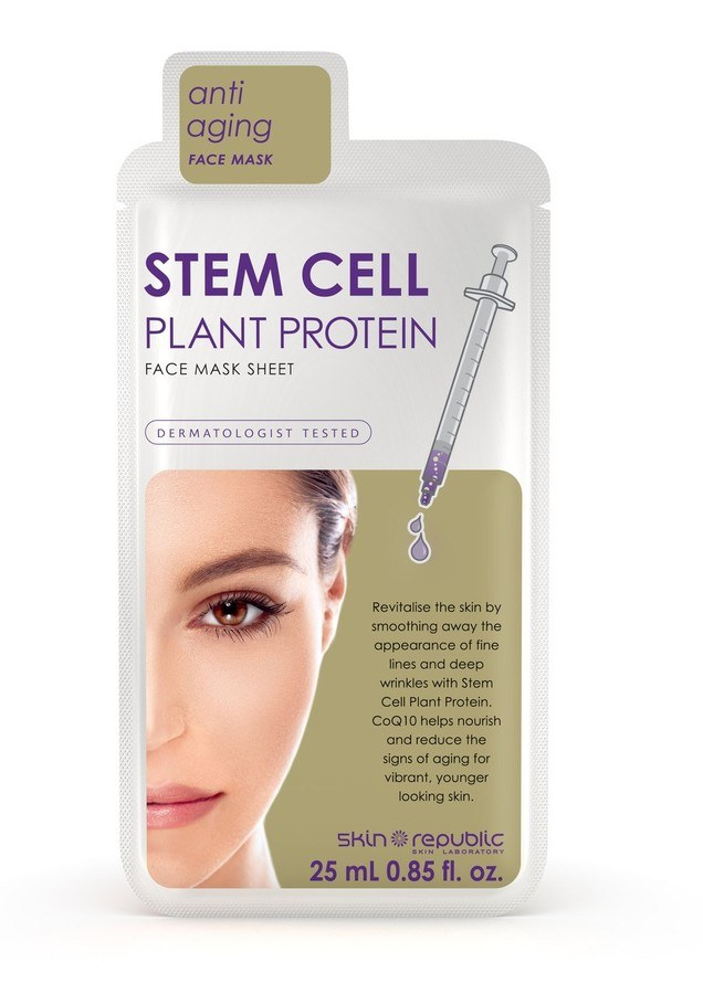Skin Republic Stem Cell Plant Protein Mask Sheet