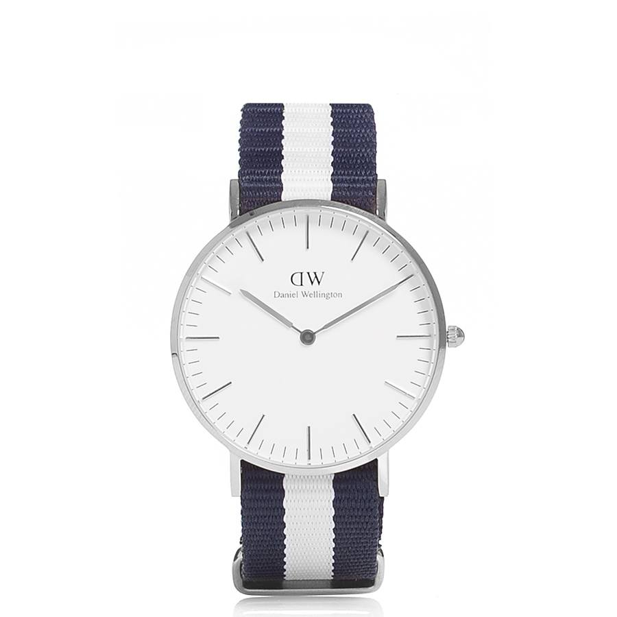 Daniel Wellington Classic Glasgow Silver 36mm DW00100047