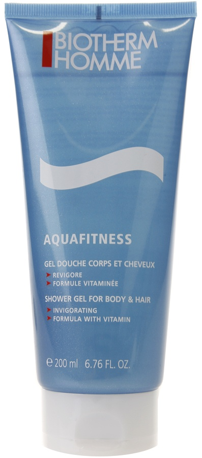 Biotherm Homme Aquafitness -shower Gel For Body And Hair 200ml