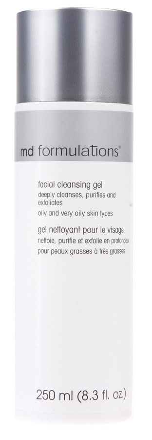 Md Formulations Facial Cleansing Gel Oliy And Very Oily Skin 250ml