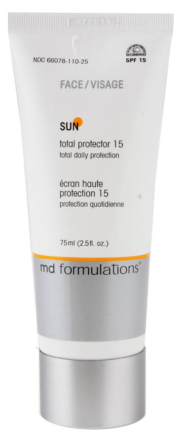 Md Formulations Sun Total Protector Face 15 All Skin Types 75ml